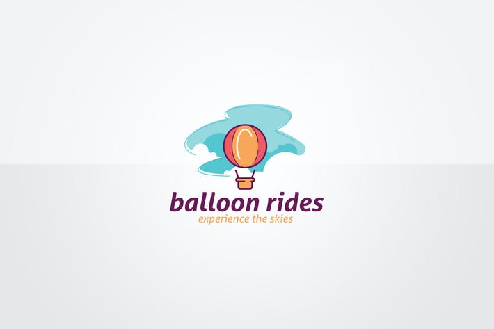 Balloon Logo Template