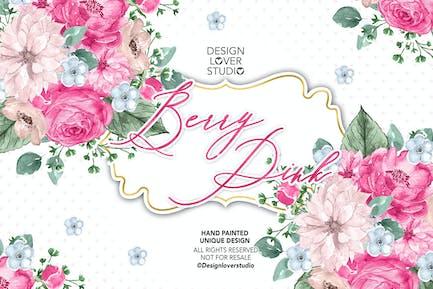 Berry Pink design