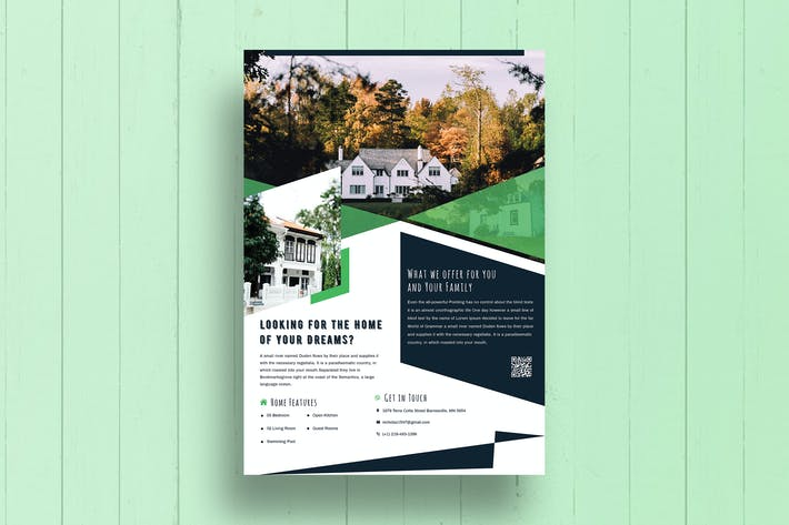 Thumbnail for Real Estate Property Flyer-02