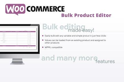 WooCommerce Editor de productos a granel