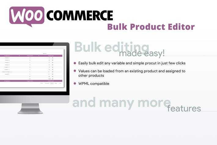 Thumbnail for WooCommerce Bulk Product Editor