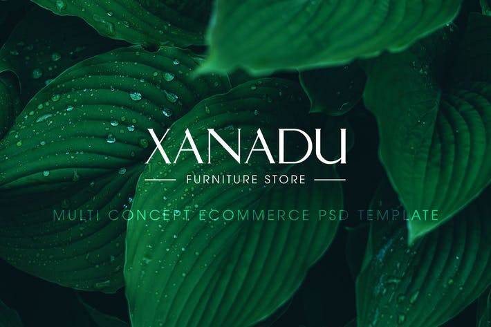 Thumbnail for Xanadu PSD Template