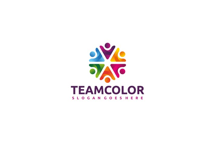 Colorful Team Logo