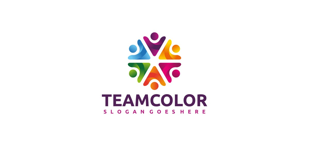 Download Colorful Team Logo by 3ab2ou