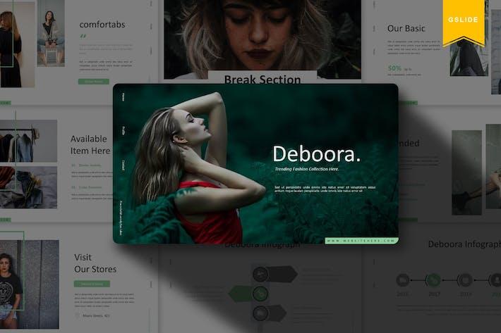 Thumbnail for Deboora | Google Slides Template