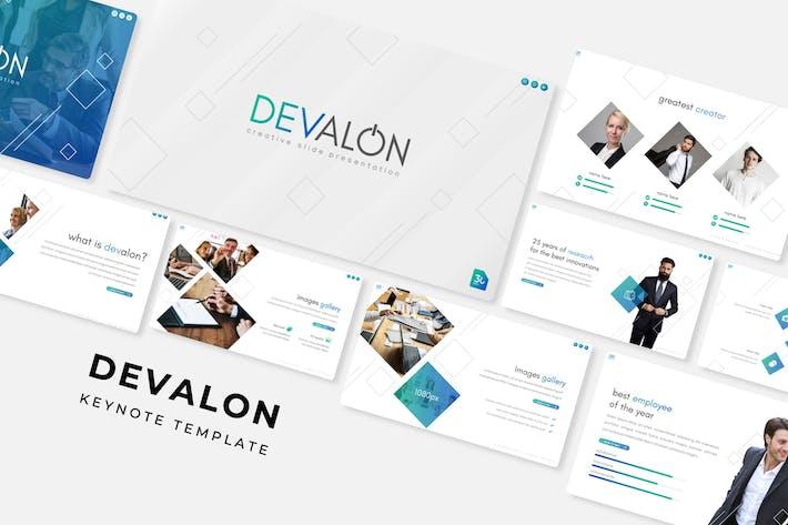 Thumbnail for Devalon - Plantilla de Keynote