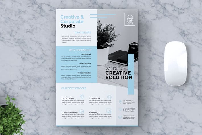 Thumbnail for Creative Corporate Flyer Vol. 05