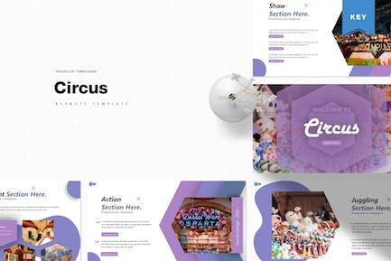 Цирк | Шаблон Keynote