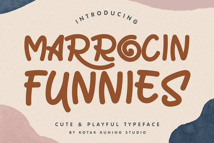 Thumbnail for Marrocin Funnies - Fuente de pantalla juguetona