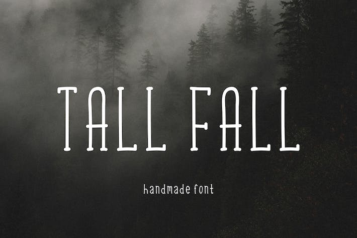 Thumbnail for Tall Fall Font