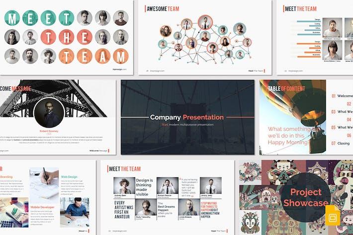 Thumbnail for START - Google Slides Template