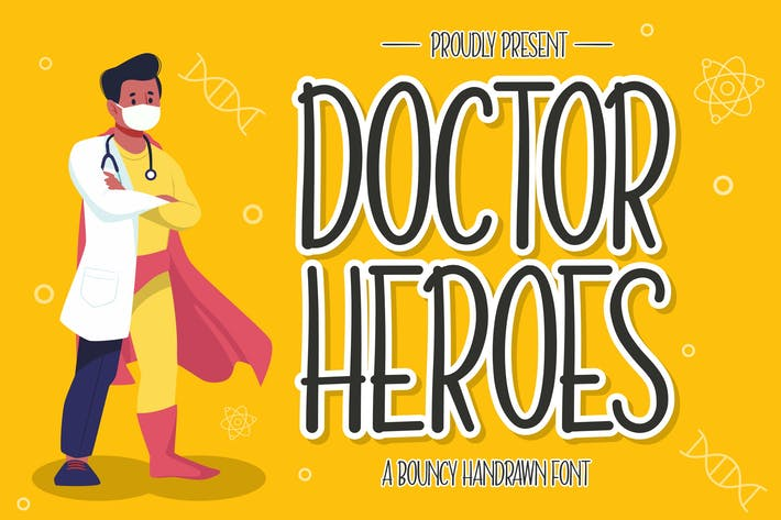 Doctor Heroes Display Font