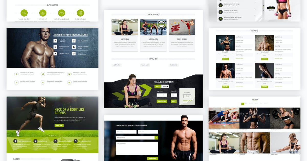 Download Fitness Zone | Sports Template for Gym & Fitness by BuddhaThemes