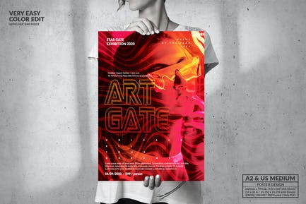 Music Event Party - Big Poster Design