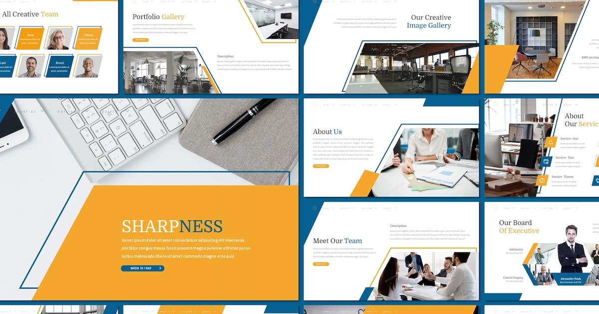 Download Sharpness - Keynote Template by inspirasign