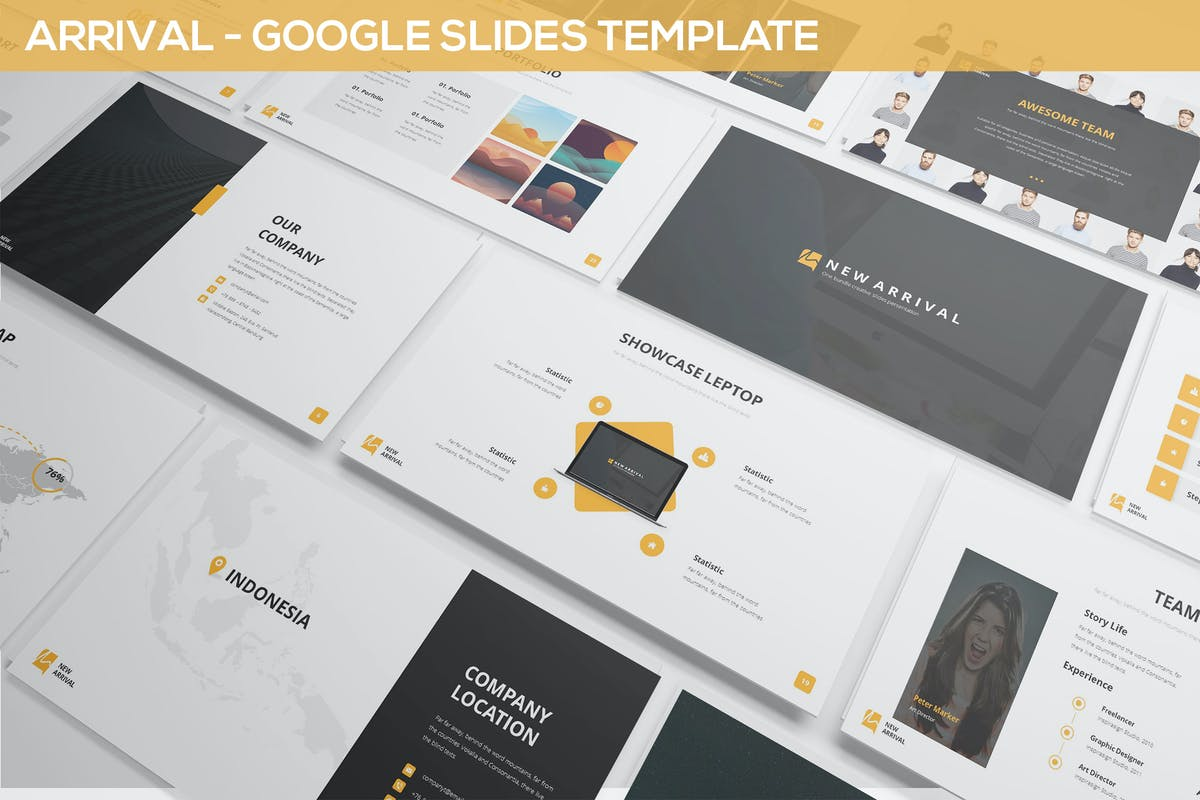 """Download 479 PowerPoint """"simple"""" Presentation Templates"""