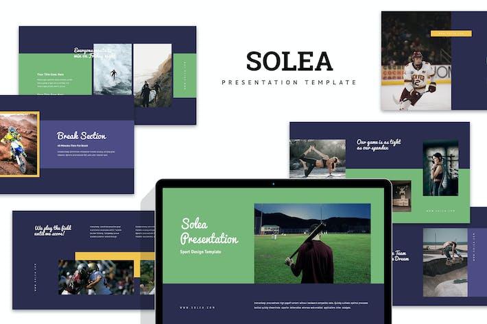 Solea: Спортивный Powerpoint