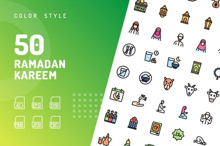 Ramadan Kareem Couleur
