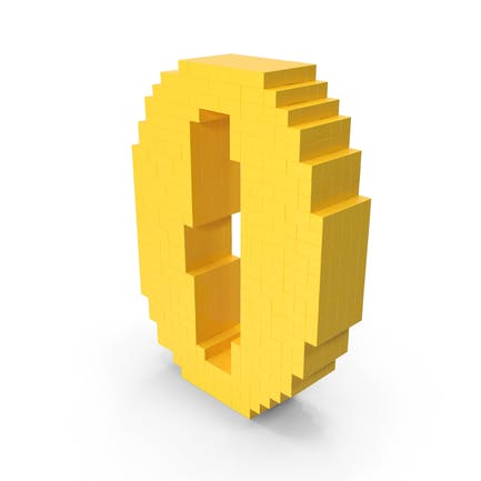 Pixel Art Número 0