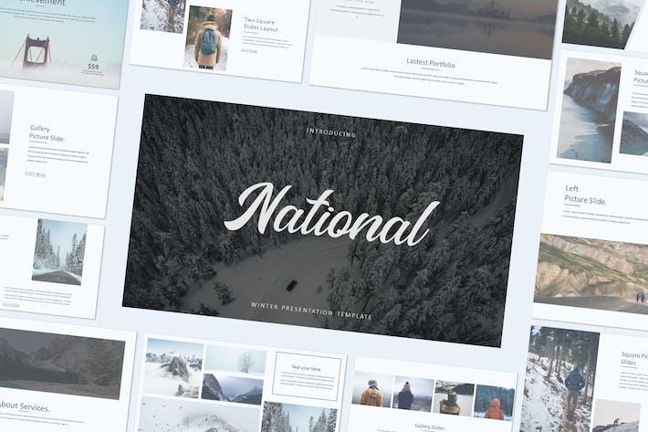 Thumbnail for NATIONAL - Google Slide Präsentation