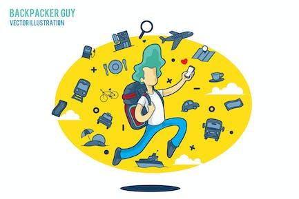 Backpacker Guy
