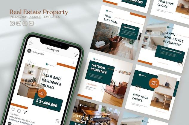 Instagram Square Vol.40 Real Estate Property