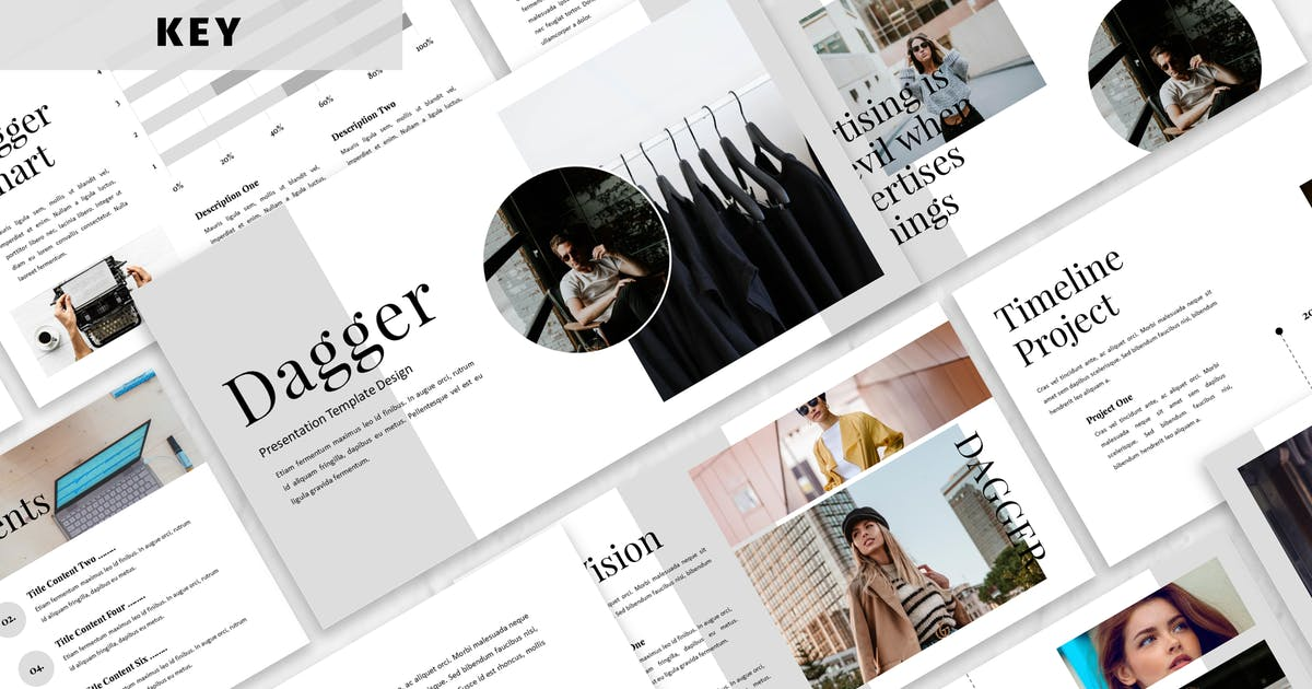 Download Dagger - Business Keynote Template by Blesstudio