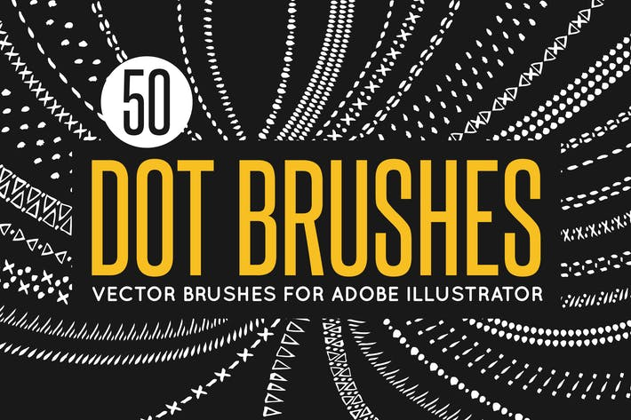 Thumbnail for 50 Vector Dot Brushes