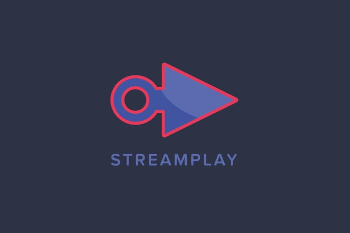 Thumbnail for Stream Play Logo Template