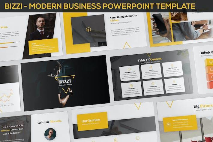 Thumbnail for Bizzi - Modern Business Powerpoint Template