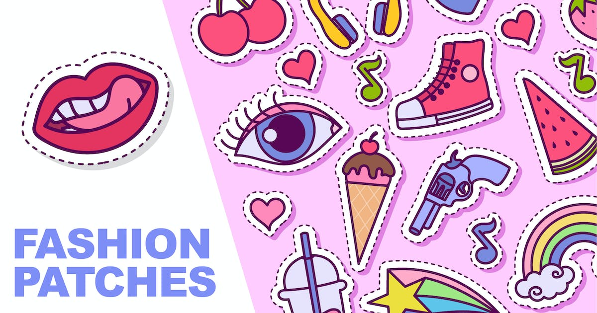Download Fashion Patches by yellowline_std