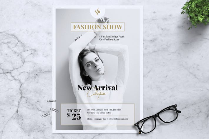 Thumbnail for VA Fashion Show Flyer