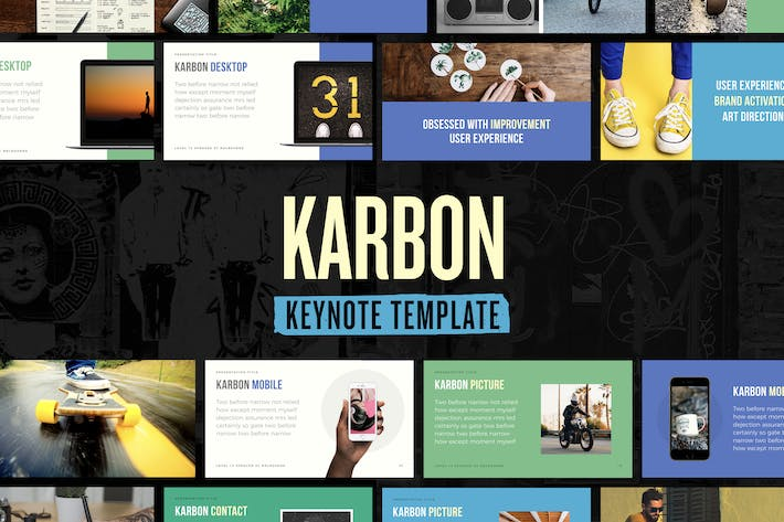 Thumbnail for Karbon — Keynote Presentation Template