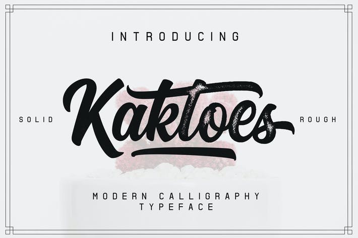 Cover Image For Kaktoes Script Font