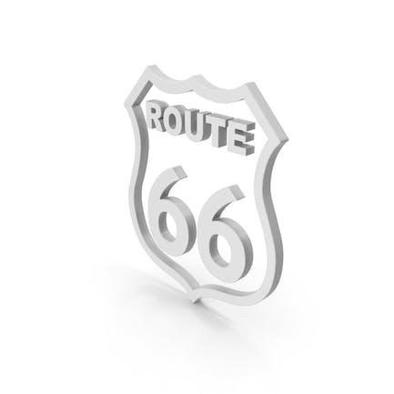 Symbol Route 66