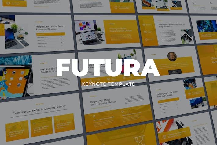 Thumbnail for FUTURA - Современный бизнес-Шаблон Keynote