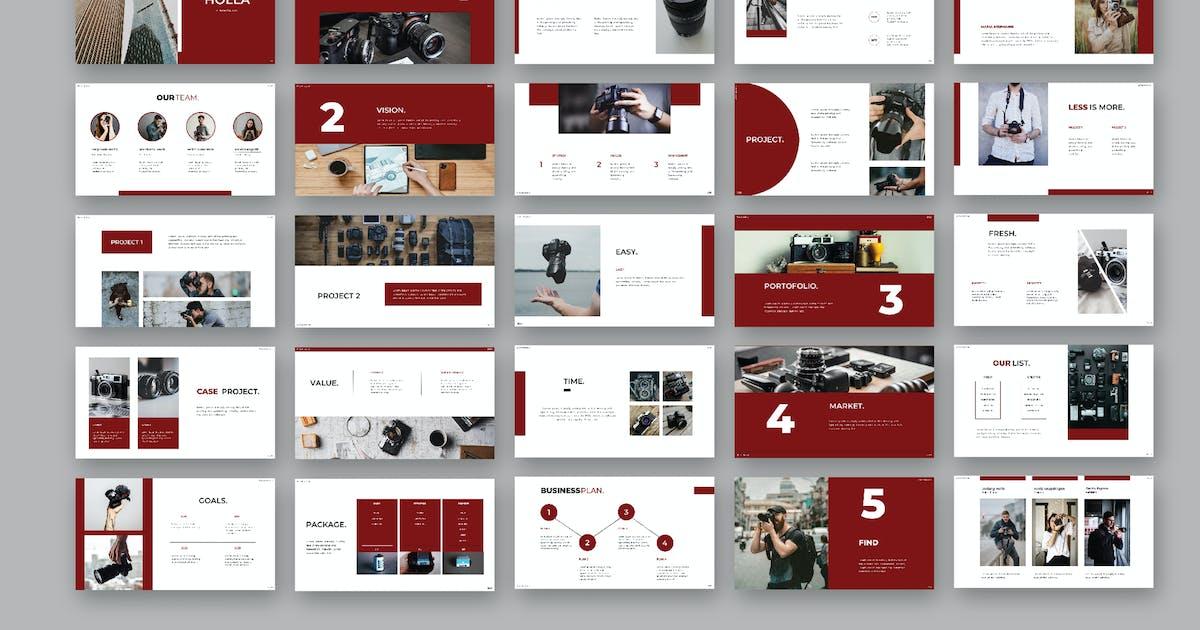 Download Holla - Presentation by celciusdesigns