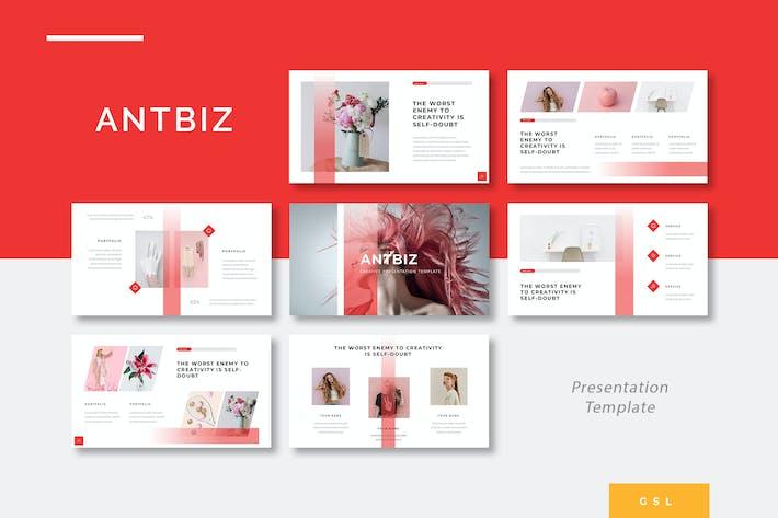Thumbnail for Antbiz - Creative Google Slides Template