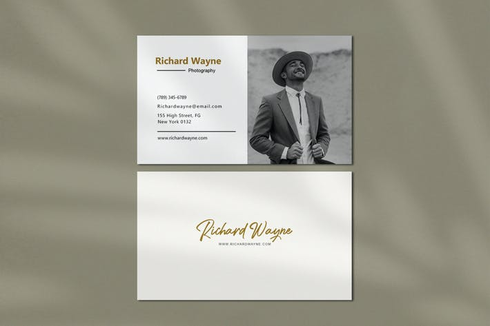 Thumbnail for Personal Picture Business Cards