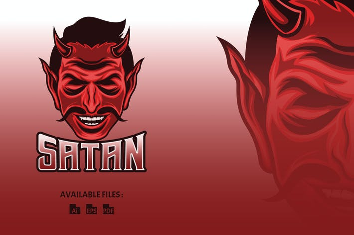 Thumbnail for Satan Sport and Esport Logo