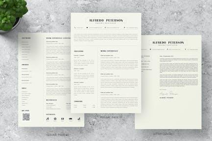 Basic CV Resume Template