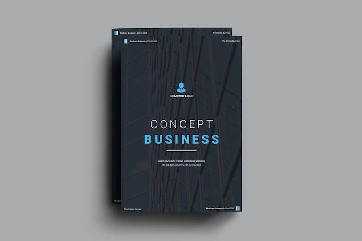 Thumbnail for Брошюра по концепции бизнеса