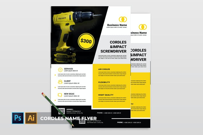 Cover Image For Cordles | Flyer