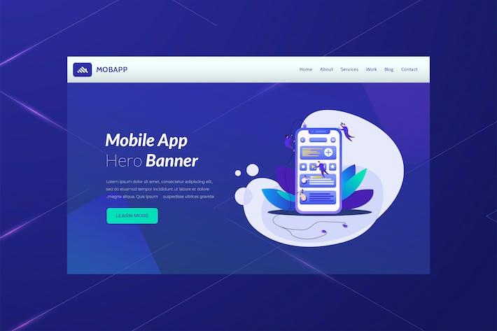 Thumbnail for Mobapp - Mobile App Development Banner