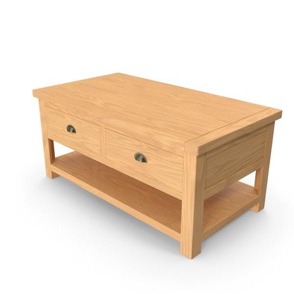 Portland Oak Coffe Table