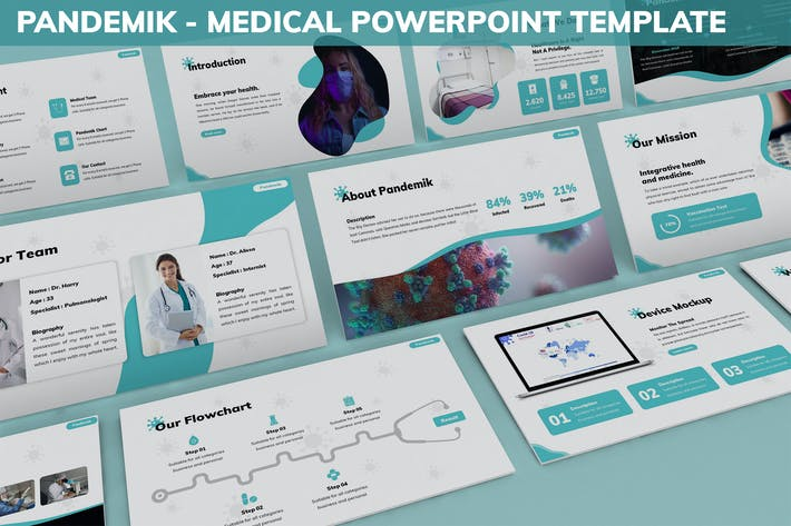 Thumbnail for Pandemik - Medical Powerpoint Template
