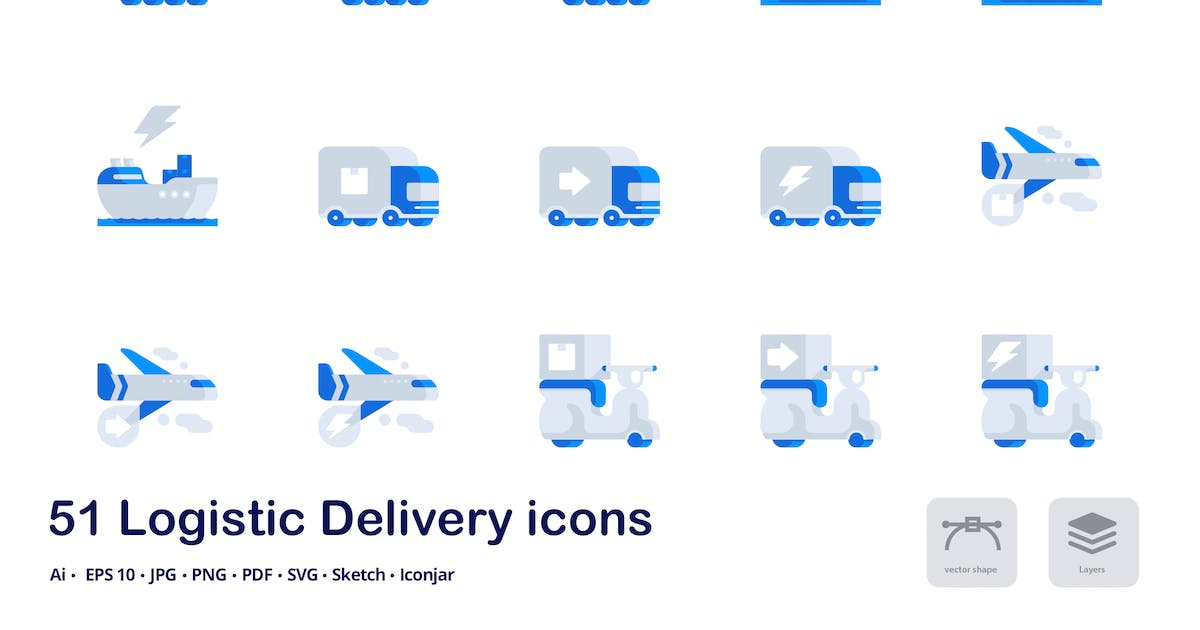 Download Logistic Delivery Accent Duo Tone Icons by roundicons