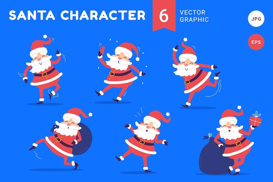 Santa Claus | juego de caracteres