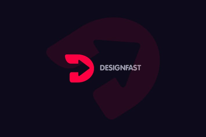 Thumbnail for Design Fast - Letter D Logo