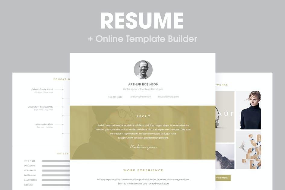 Download Resume - Responsive Email Template by HyperPix